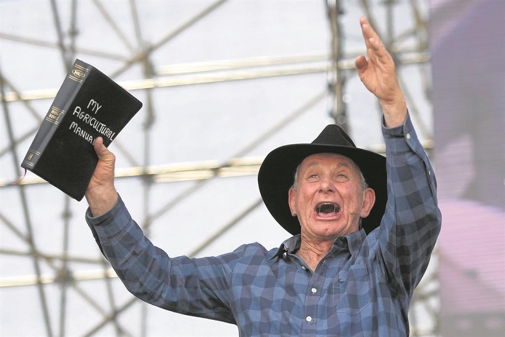 Pastor Angus Buchan. Photo: Gallo Images