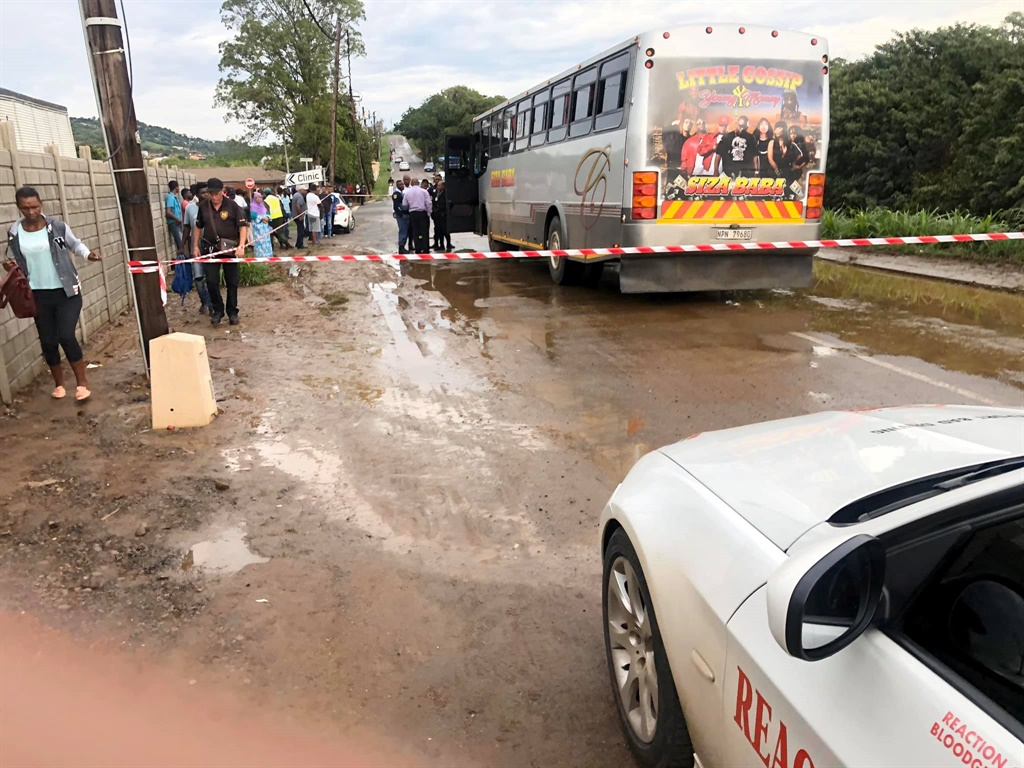 A bus driver was killed on Buffelsdraai Road by a man posing as a passenger. (Supplied)