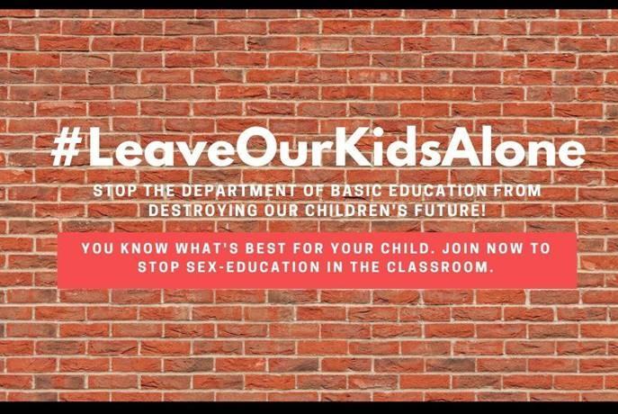 #leaveourkidsalone