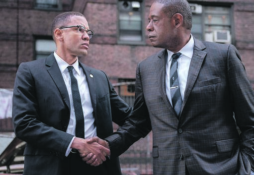 Malcom X and Bumpy have an interesting dynamic in The Godfather of Harlem. Picture: Supplied