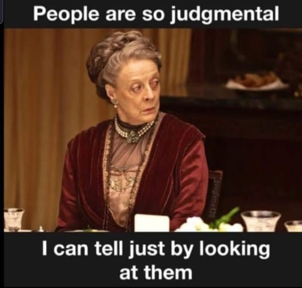 A meme of Maggie Smith illustrating the irony of cancel culture. (Supplied)