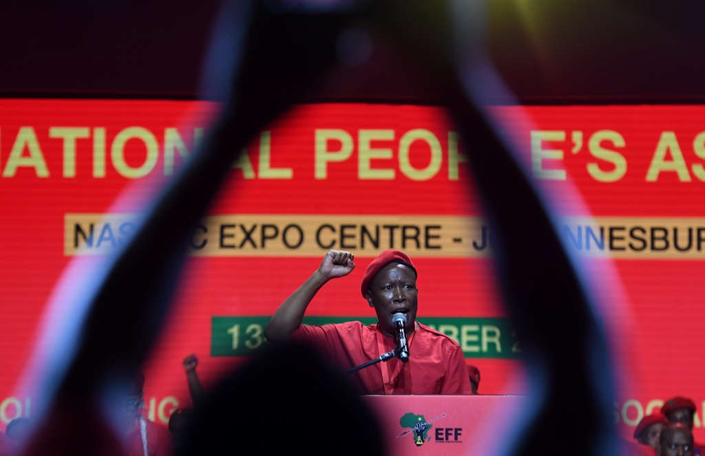 News24.com | Julius Malema: We are for media freedom, but not for those 'whose agenda is to destroy the EFF'
