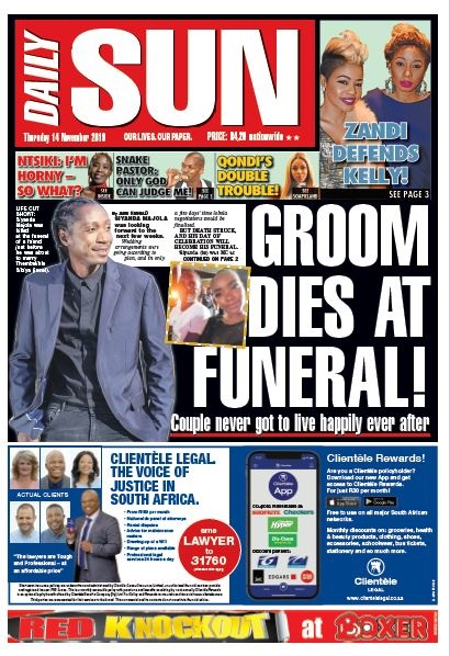 TODAY U0026 39 S FRONT PAGE