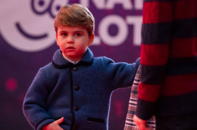 Prince Louis was spotted for the first time in months going to a Christmas pantomine in London's West End this month. (Photo: Gallo Images/Getty Images)
