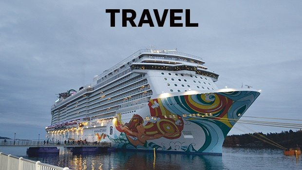 Norwegian Getaway, snapped just before hopping on