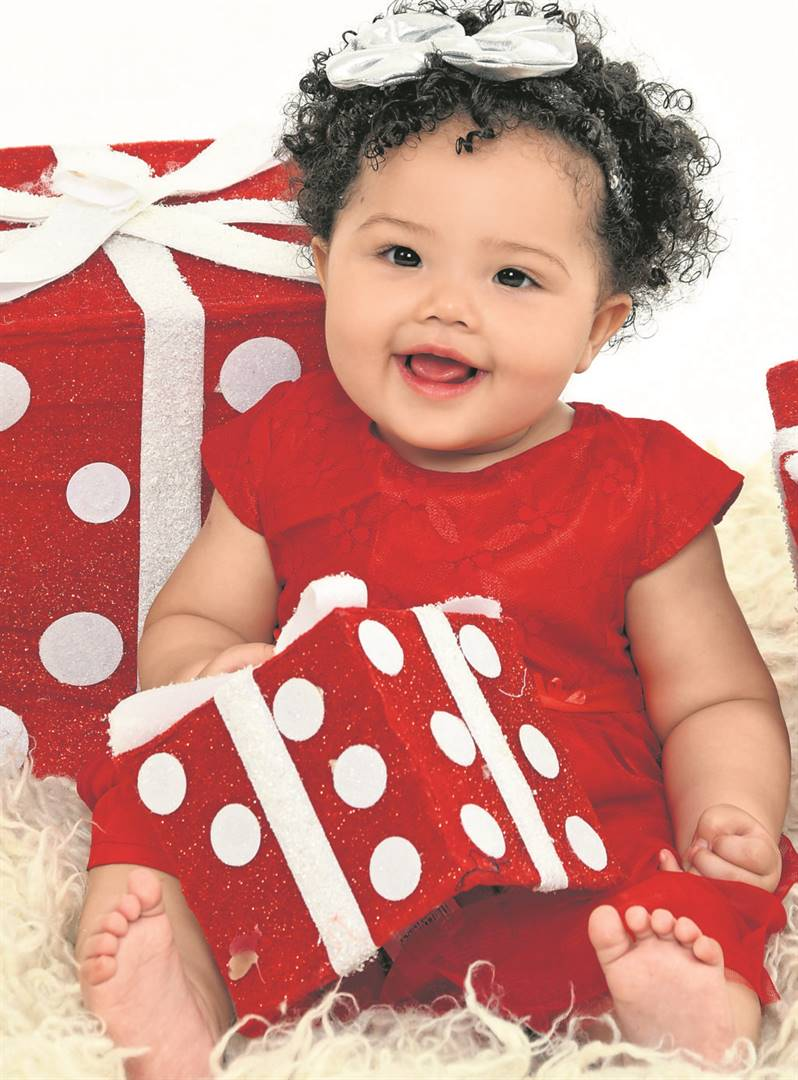 : Thorbryn May is this year's Front Page Christmas Baby winner. Read more about her and her family's plans for her very first Christmas on page 6.photos: prodesign       photographers