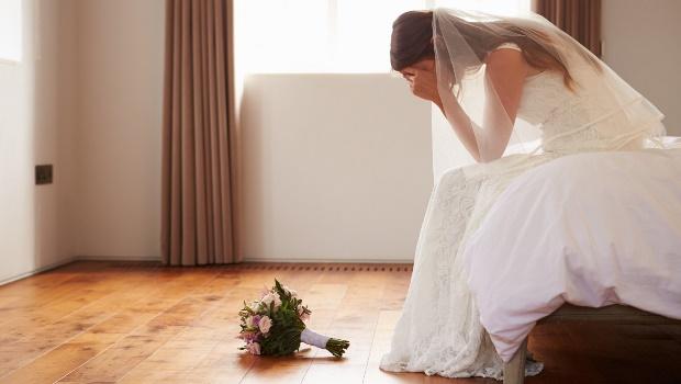 Upset bride. (PHOTO: Getty/Gallo Images)
