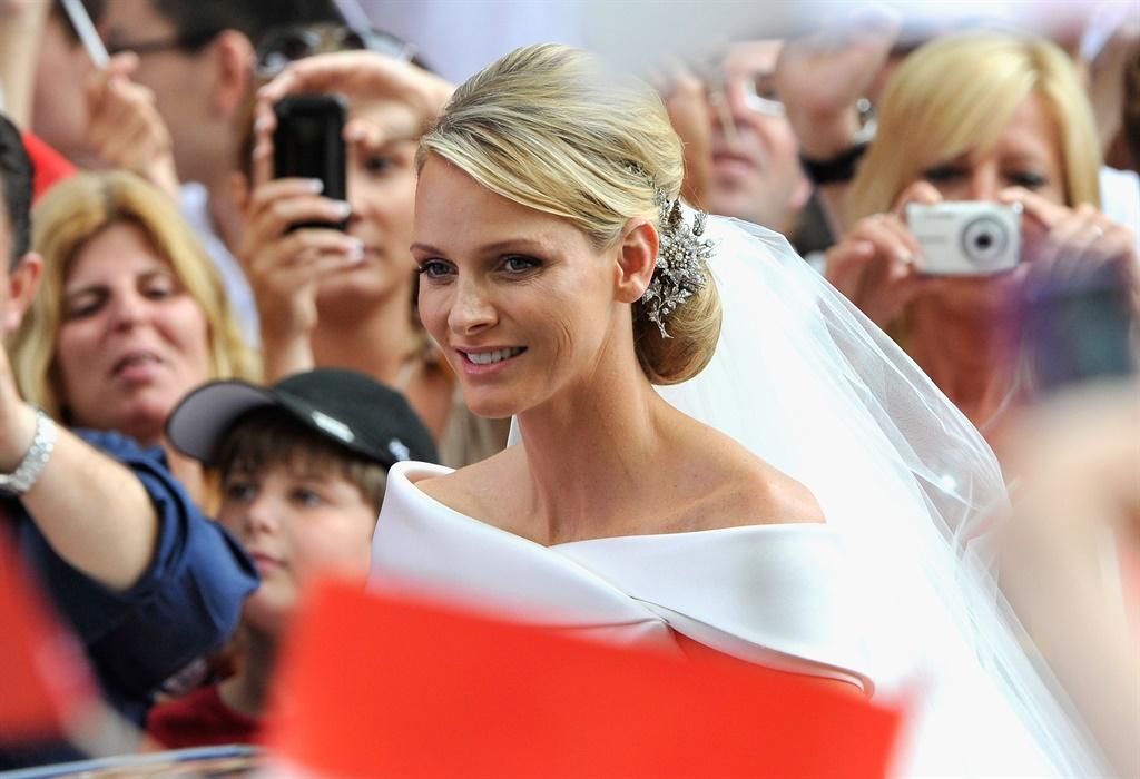 Tydens haar troue in 2011. Foto: Gallo Images/Gett