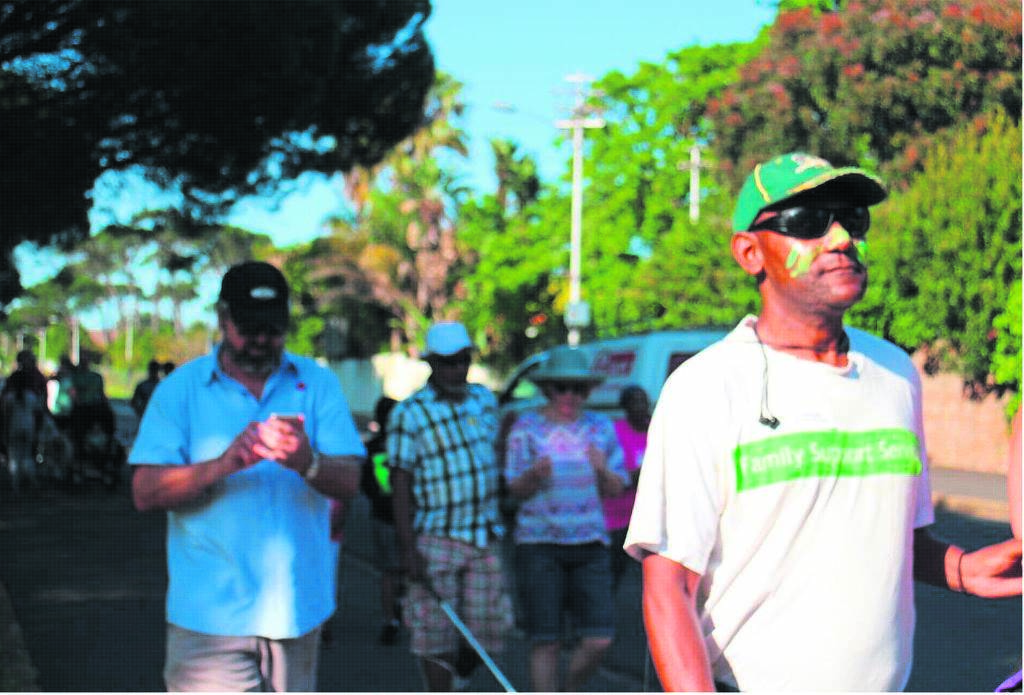 The Cape Town Society for the Blind fun-run or walk will be held in line with the annual International Day of Persons with Disabilities commemorated on Tuesday 3 December. Pictured is Thomas George, one of the CTSB beneficiaries.