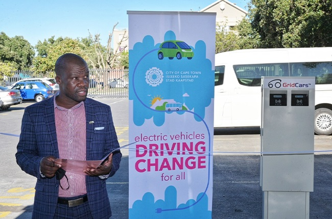 City of Cape Town's Mayoral Committee Member for Energy and Climate Change, Councillor Phindile Maxiti.