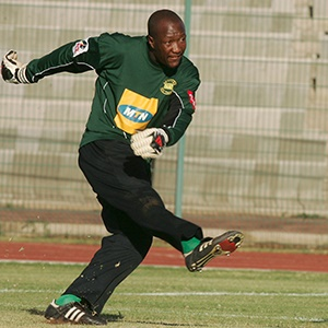 9 December 2006, Nkosana Maseko during the PSL match between Jomo Cosmos and Golden Arrows at Huntersfield Stadium in Katlehong, South Africa.