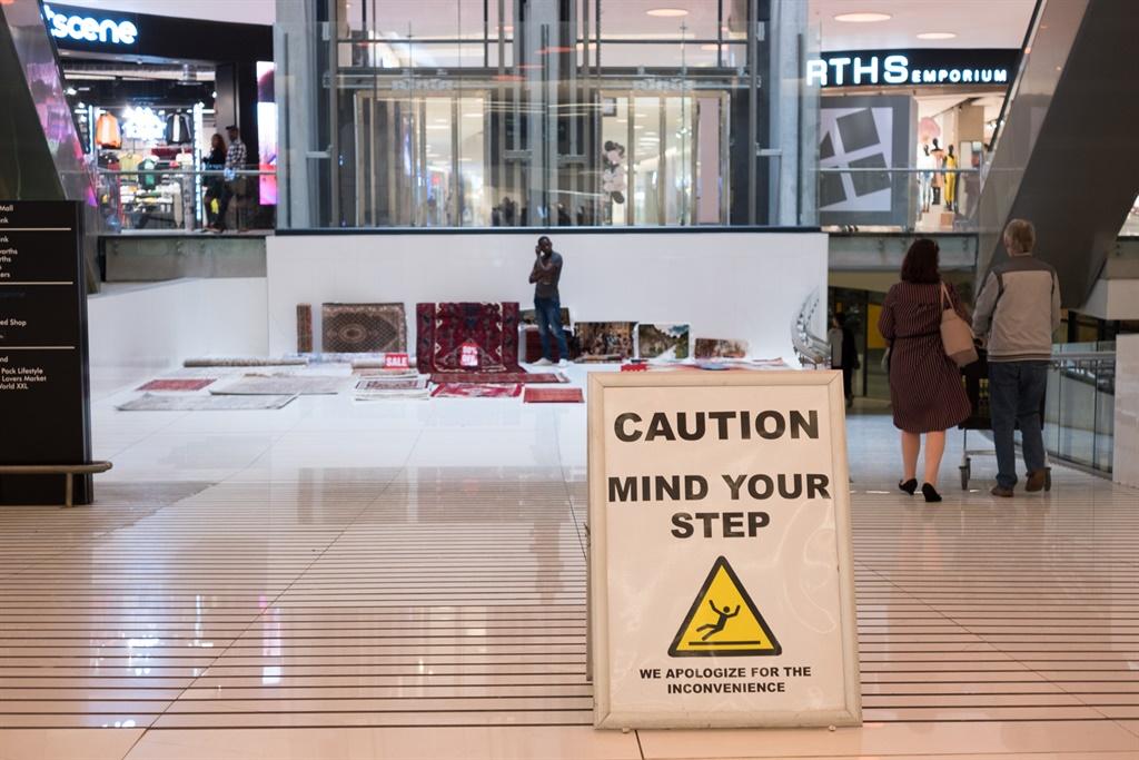 Fourways Mall, Andrew Thompson