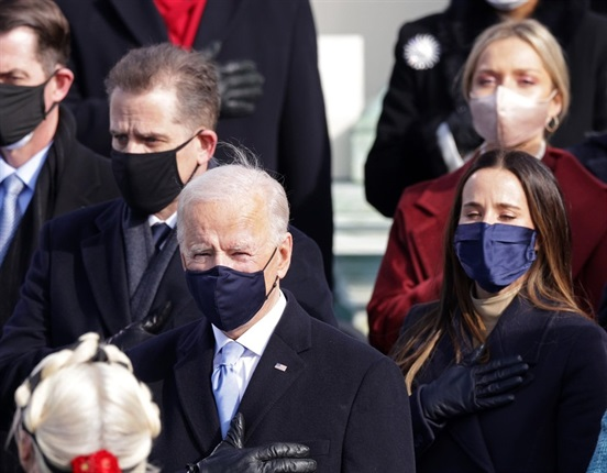 <p><strong>TAKE A LOOK | Biden's South African daughter-in-law at his inauguration</strong></p><p>The new US president has a South African daughter-in-law, and she had a prominent place at his inauguration on Wednesday.</p><p>Melissa Cohen, who hails from Johannesburg, sat behind Joe Biden during the ceremony at the US Capitol in Washington.<strong></strong></p>