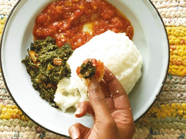 Pap and tomato relish