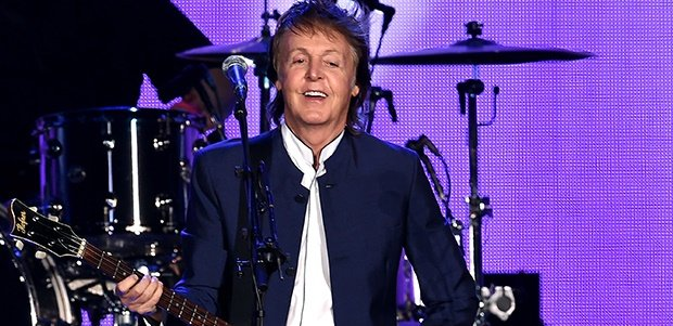 Musician Paul McCartney performs during Desert Trip at the Empire Polo Field (Photo: Getty)