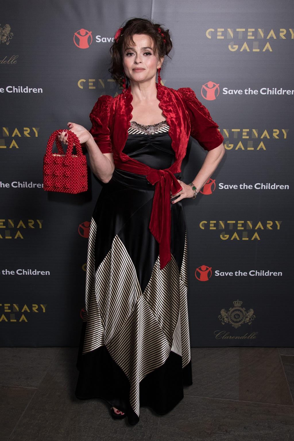 Die Britse aktrise Helena Bonham Carter.
