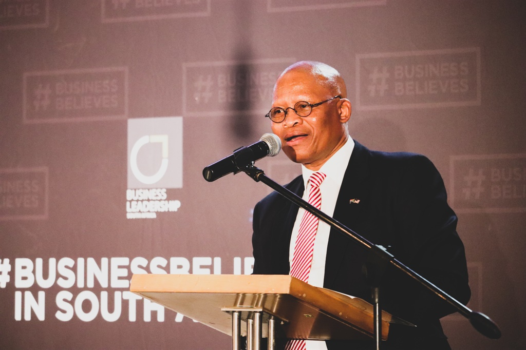 Chief Justice Mogoeng Mogoeng speaking at the Gibs ethics barometer launch in Johannesburg. Picture: Sthembiso Lebuso