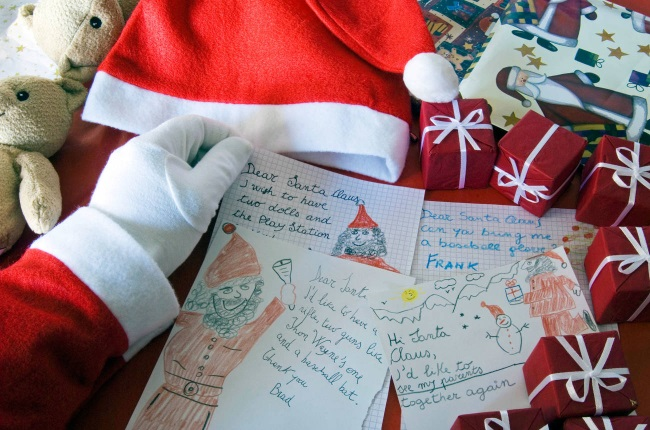 Father Christmas received heartwarming letter this year (Photo: Gallo Images/ Getty Images)