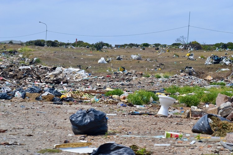 The filthy site where a nearby initiation school is meant to operate in New Brighton. (Photo: Thamsanqa Mbovane)