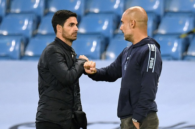 Mikel Arteta and Pep Guardiola (Getty Images)