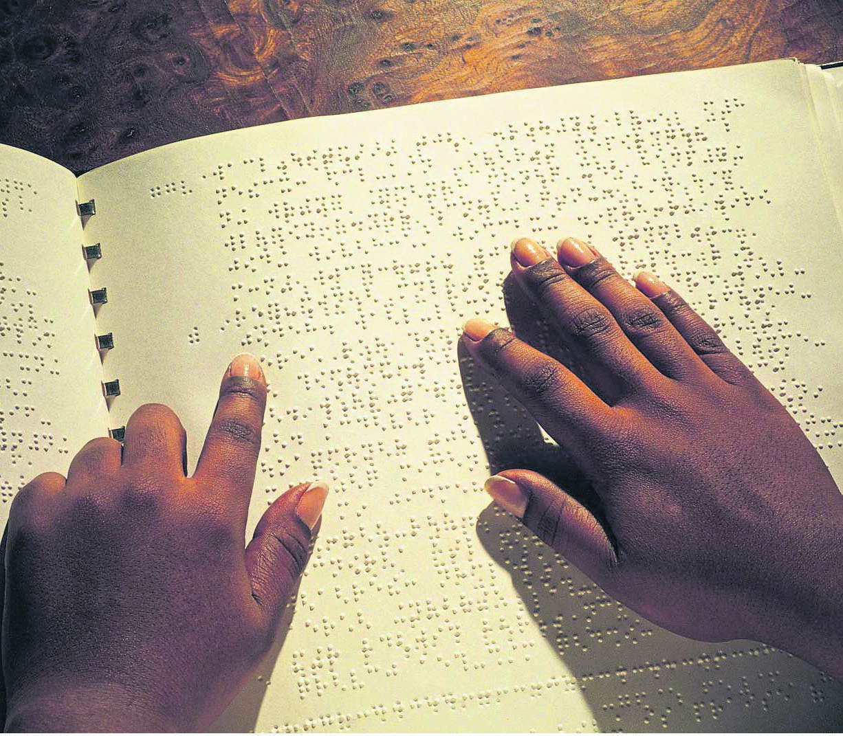 Blind and partially sighted people commemorated Braille Day on January 4. photo: sourced