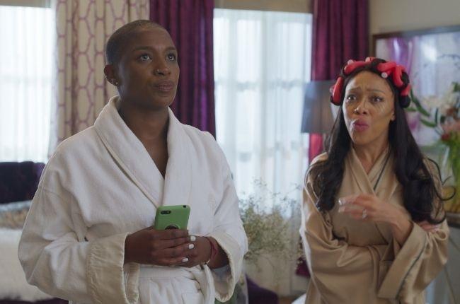 Busisiwe Lurayi, Thando Thabethe in How To Ruin Christmas: The Wedding