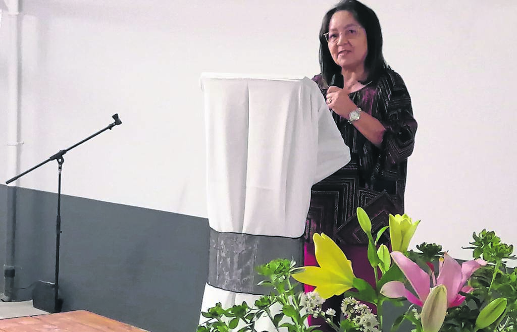 Patricia de Lille, speaking at the Constantia Emporium Opening Ceremony, said the Solomons Family Trust served as encouragement to those who are struggling in their land restitution claims.PHOTO: Nettalie Viljoen