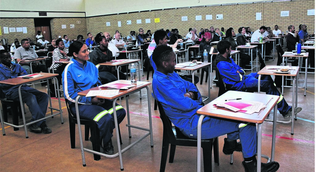During the A21 Digital Guidelines Roadshow hosted by the department of higher education and training (DHET) in partnership with the British Council at the College of Cape Town TVET in Thornton.PHOTOS: Nomzamo Yuku
