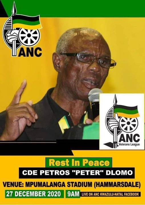 AN ANC poster.