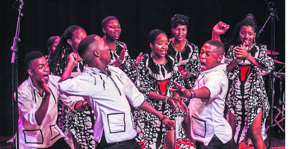 The Ndlovu Youth Choir will be one of the live performances at this year's Festive Lights Switch-on.