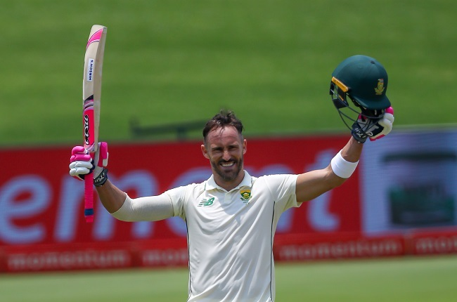 Faf du Plessis made his highest Test score (Gallo Images)