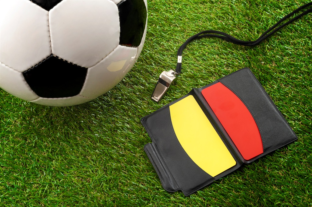 The football rules may be confusing but referees need to enforce them. Photo: iStock/Gallo Images