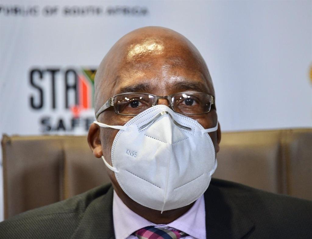Home Affairs Minister Aaron Motsolaedi.