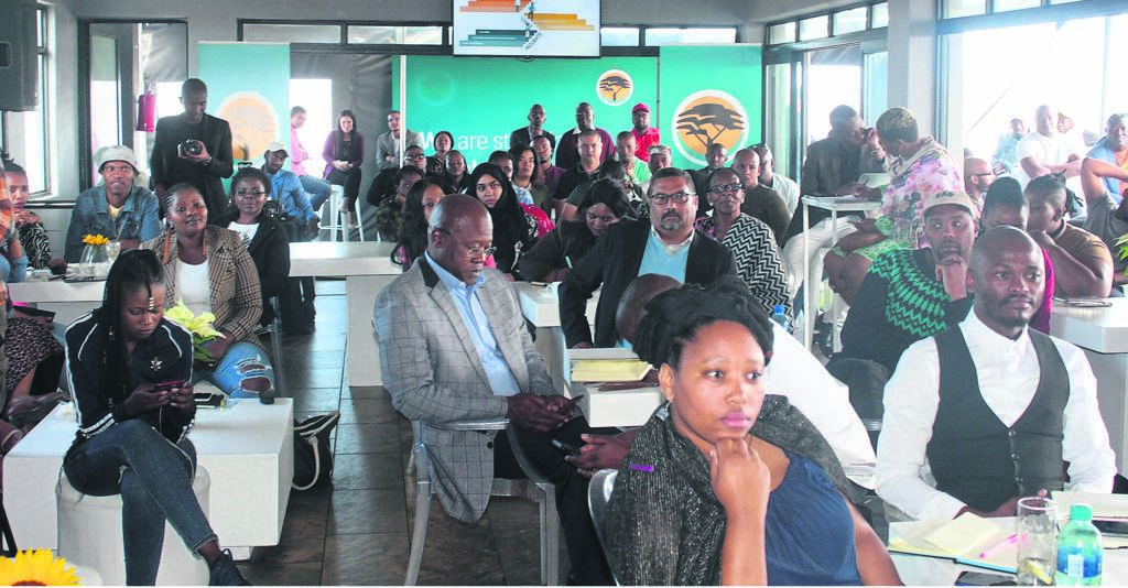 Small businesses attended a knowledge sharing and netowrking session hosted by one of South Africa's top banks.PHOTOs: SIYABONGA KALIPA