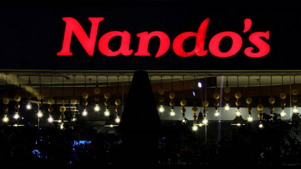 A Nando's restaurant in Gurgaon, India, on 14 Octo