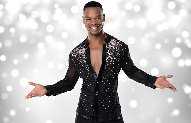 Johannes Radebe on 'Strictly Come Dancing UK.' (Photo supplied: BBC)
