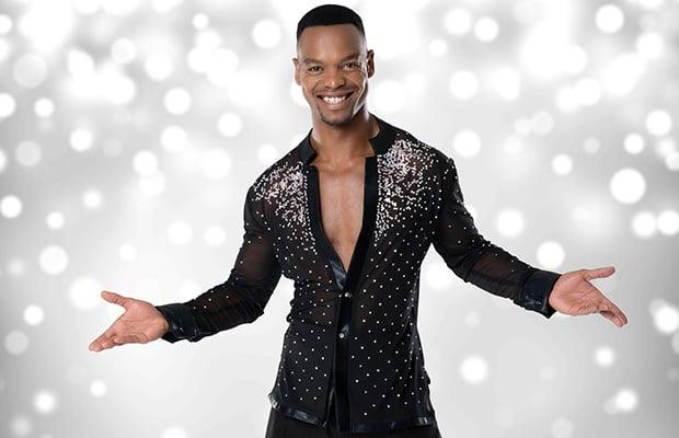 Johannes Radebe on 'Strictly Come Dancing UK.'