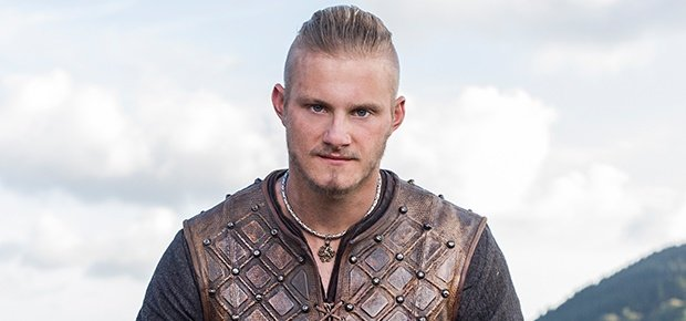 Alexander Ludwig in Vikings. (Photo supplied: Showmax)