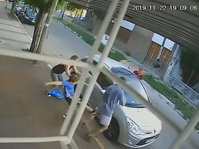 The little boy was determined not to let the thieves escape (Photo: ASIA WIRE/MAGAZINEFEATURES.CO.ZA).