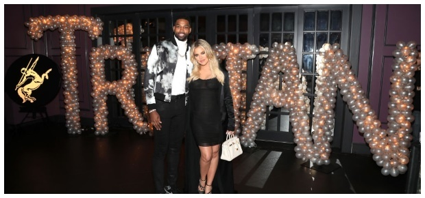 Khloe Kardashian and Tristan Thompson (PHOTO:GETTY/GALLO IMAGES)