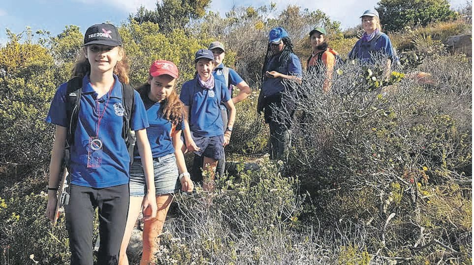 The 1st Fish Hoek Girl Guides explored Cape Point, taking advantage of its free-access week.