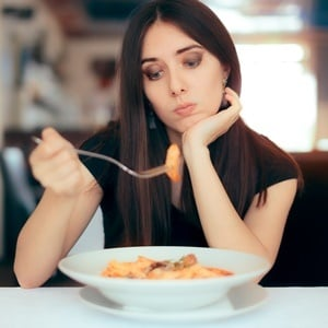 Feel like you're full? That's your stretched intestine telling your brain you've had enough.