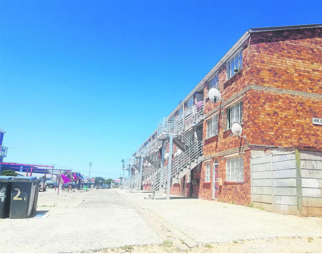 Ward 110 flats are getting a more than R10 million makeover. PHOTO: Racine Edwardes