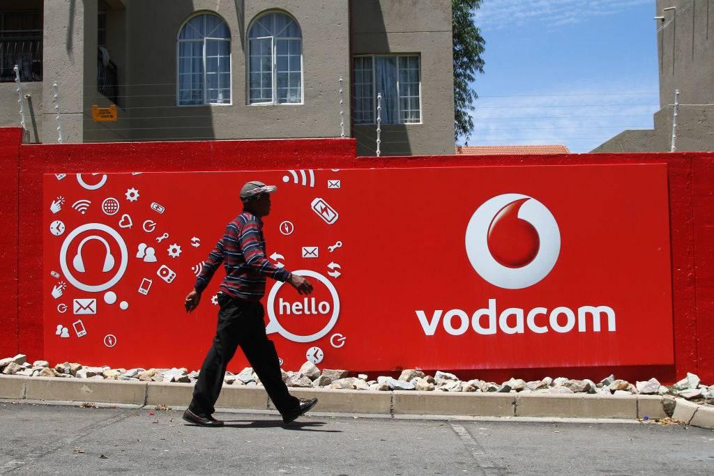 Vodacom se aandeelprys is gelooi ná die aankondiging dat hy sy datapryse met die helfte moet sny. Foto: Getty Images