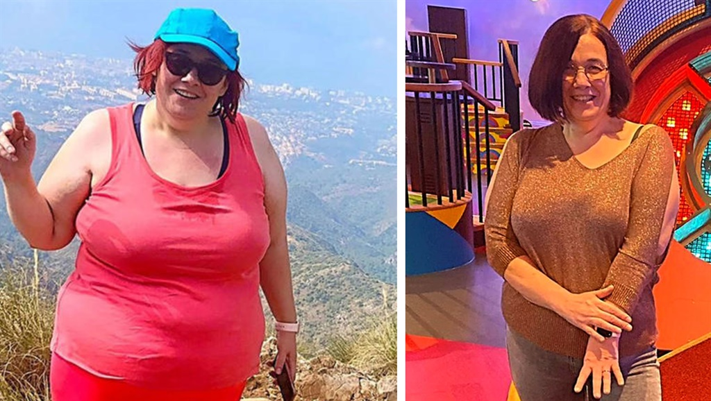 Woman loses 44kg after being hypnotised to believe
