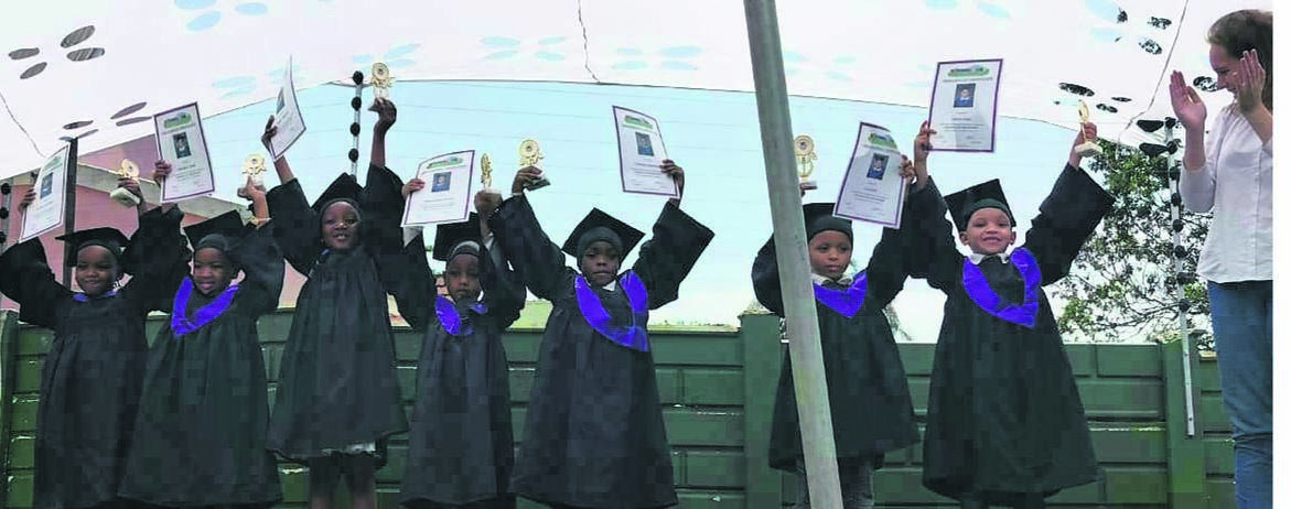 Fairhaven Kids Pre-School say goodbye to their Grade Rs as they celebrate being promoted to 'big school' at their graduation ceremony recently.PHOTO: supplied