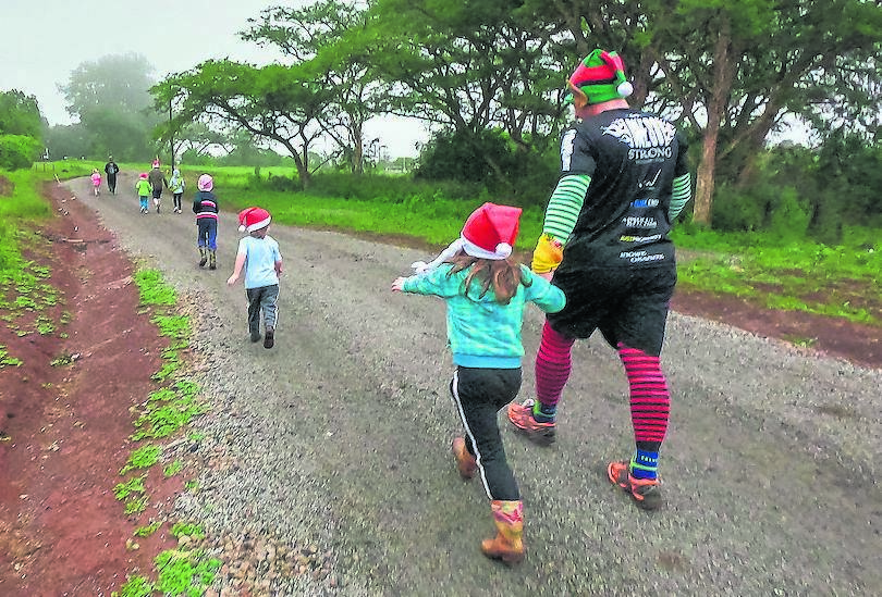Wear your Christmas outfit and bring your family and friends to the final KZN Trail Running event of the year. PHOTO: supplied