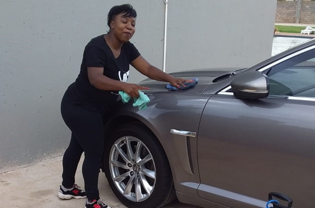 Nqobile Rathebe refused to be discouraged by failing to find a job – she started her own business instead.