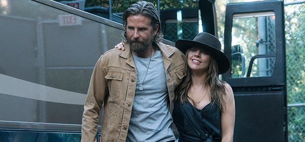 Bradley Cooper and Lady Gaga in the movie A Star is Born. (Warner Bros)
