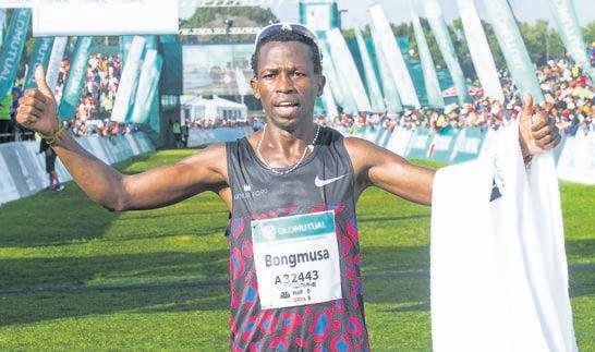 Three-time Comrades Marathon winner Bongmusa Mthembu looks forward to competitive running again.